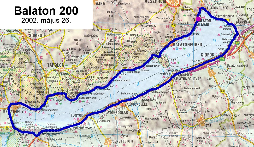 bicikliút balaton térkép Év közbeni túrák listája bicikliút balaton térkép
