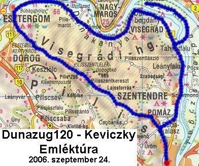 budapest visegrád térkép Év közbeni túrák listája budapest visegrád térkép