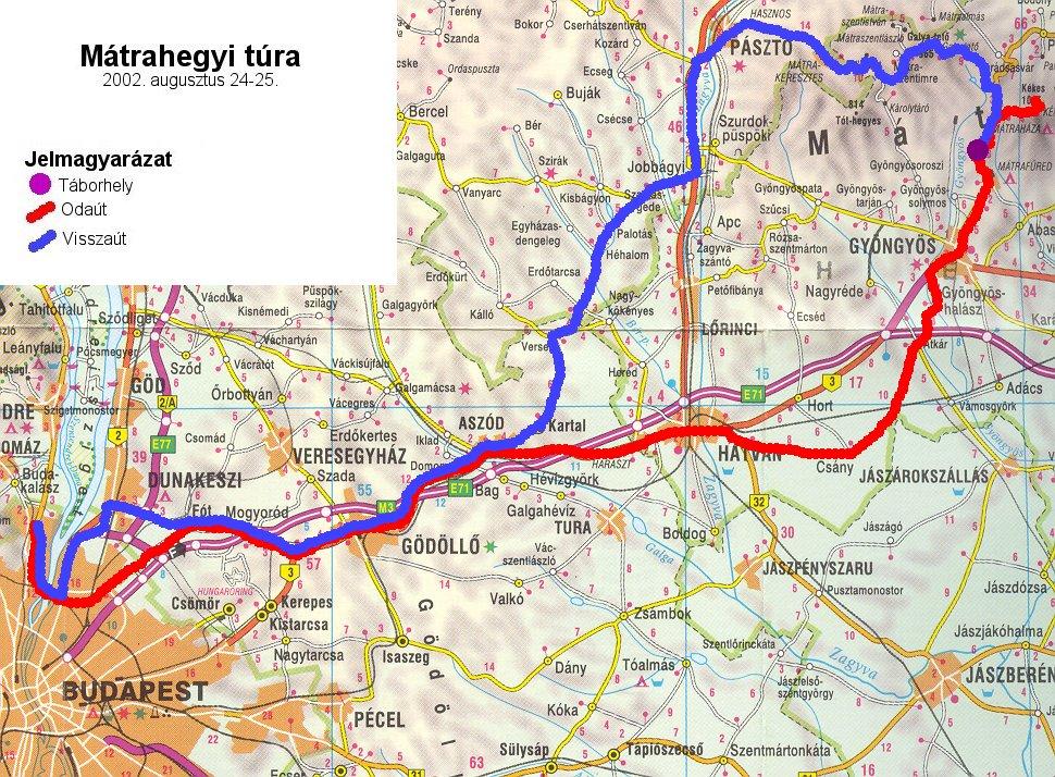 mátra kerékpáros térkép Élménybeszámolók