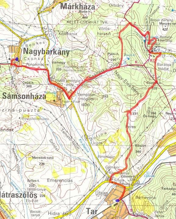 szentkút térkép Előretekíntés 2007 re