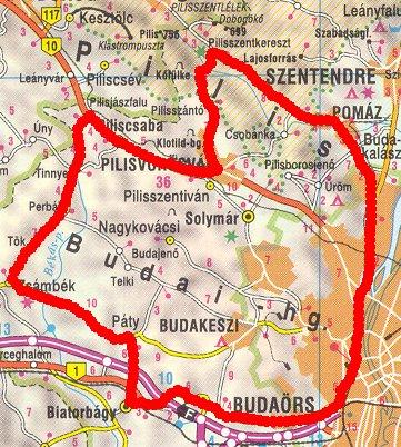tinnye térkép Hosszabb túrákról tinnye térkép