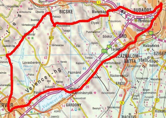 felcsút térkép Hosszabb túrákról felcsút térkép