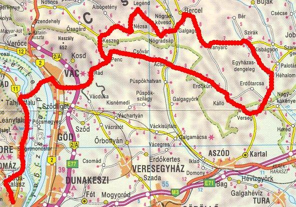 göd térkép Hosszabb túrákról göd térkép