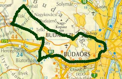 budaörs térkép részletes Rövid túrákról