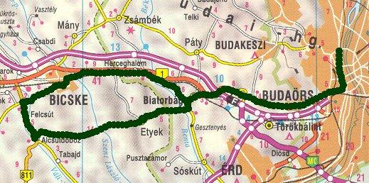 felcsút térkép Rövid túrákról felcsút térkép